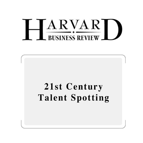 21st Century Talent Spotting (Harvard Business Review) audiobook cover art