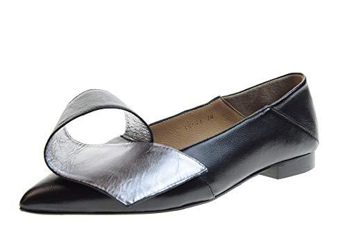 poesie veneziane scarpe POESIE VENEZIANE Scarpe Donna Ballerine 18441 Nero Taglia 37 Nero