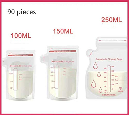 Find Discount Milk Storage Bags, Disposable Milk Bags, Breast Milk, Human Milk, Fresh Milk Bags, Fro...