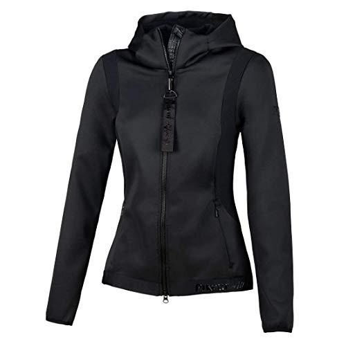 PIKEUR Damen Fleecejacke LYS New Generation Collection Frühjahr/Sommer 2021,black, 36