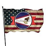 RealityRatcap American Samoa Flag Flag 3x5 Foot American Flag