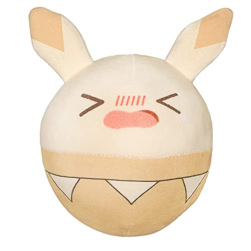 xHxttL Genshin Impact Muñeco de Peluche Klee Bouncing Bomb Ball Relleno de Felpa Slime Plushie Toy Chubby Ball Conejo Anime Game Bunny Pillow Regalo de cumpleaños