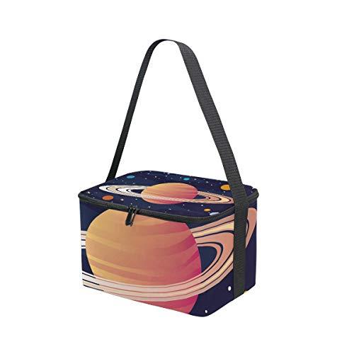 MONTOJ Lunchbox/Kühltasche, isoliert, Ringe von Saturn