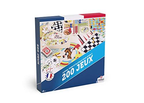 Ducale, el Juego francés - Estuche 200 Juegos para Todos, 10011364