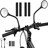 Best Bicycle Mirrors - Mordely Bike Mirror, 2pcs Adjustable Handlebar Rear View Review