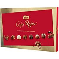 Nestlé Caja Roja Bombones de Chocolate - Estuche de bombones 4x400g