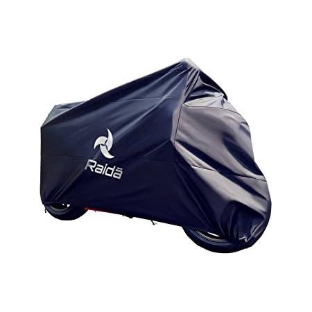 Raida RainPro Bike Cover for Bajaj Pulsar NS200 (Navy Blue)
