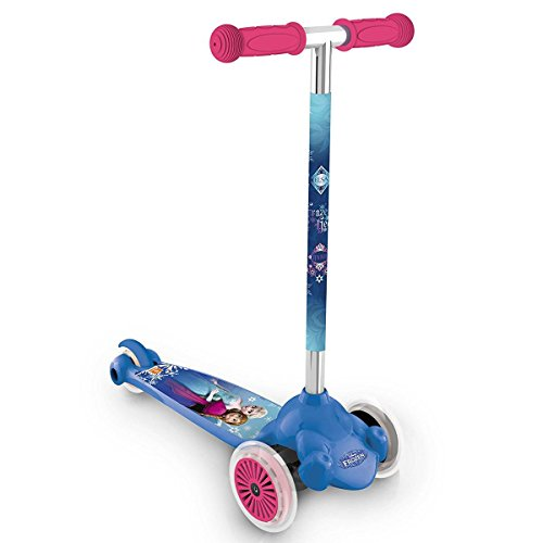 Disney Cars Frozen Eiskönigin Kinderroller Twist Roll Scooter Kugellager Kinder, Variante:Frozen