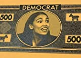 Aizics Mint $500 Alexandria Ocasio-Cortez boardgame Monopoly-Style Money! AOC A.O.C. Pack of 100 Authentic Bills! Best Gag Gift Ever!! Worthless, just Like Democrats.