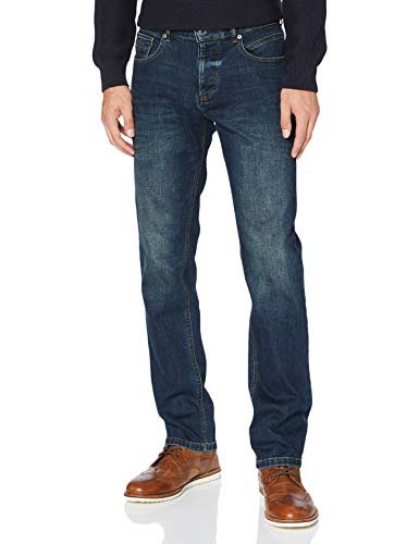 Camel Active Herren relaxed fit Woodstock Loose Fit Jeans Mittel Blau 36W / 34L