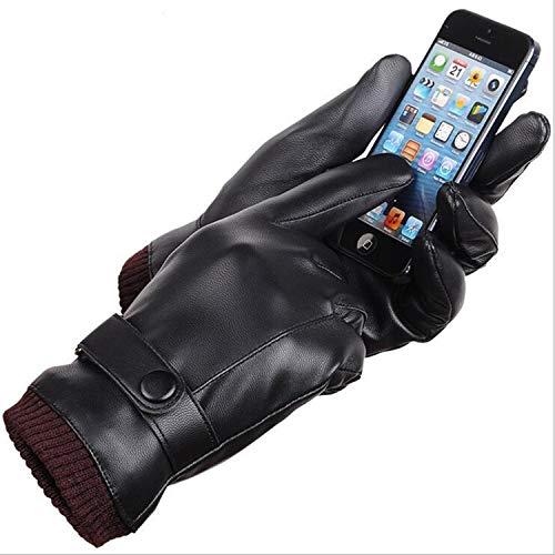 Small-shop-gloves G118 G118 G118 Gants en Polaire épais pour Homme avec écran Tactile, Femme, Noir, Taille Unique