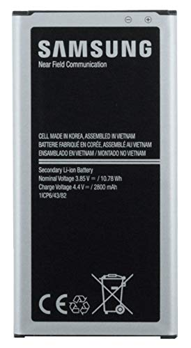 Batteria agli ioni di litio per Samsung Galaxy Xcover 4, con 2800 mAh, accessori originali Samsung, incl. displaypad