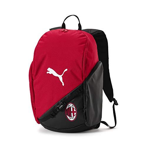 PUMA AC Milan Liga Backpack Rugzak, Tango Red Black, UA
