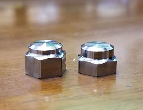 【カケヅカデザインワークス】チタン製 ハンドルロックナット 単品(M7・M8)