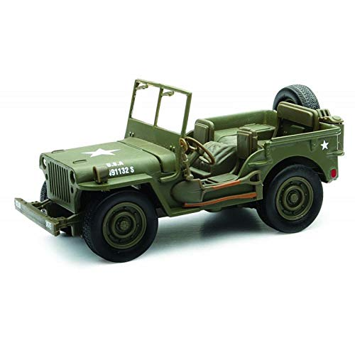 Voiture de collection Jeep Willys 1/32° Roue libre