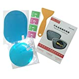 BianchiPamela Rainproof Anti-Fog Car Rearview Mirror Film Sticker Ultra-Clear Film Shield