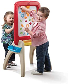 STEP2 ALL AROUND EASEL FOR TWO(RED) 826800 Creative easel