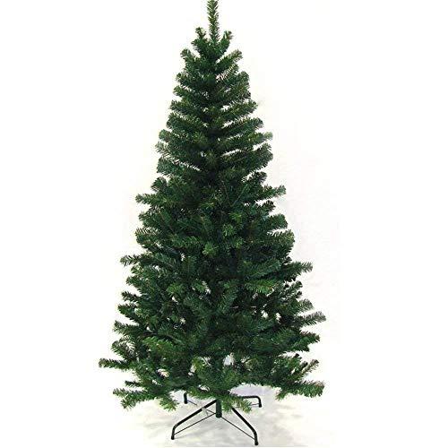 VINGO Künstlicher Weihnachtsbaum 150 cm ca. 350 Grün PVC Weihnachtsbäume mit Metallständer Kunststoff Nadeln Weihnachten Deko innen Weihnachtsdekoration
