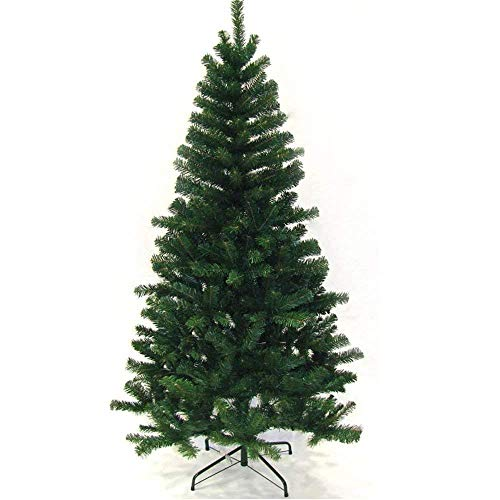 Hengda Artificial Árbol de Navidad, Natural Verde, Material PVC, Incluye Soporte de Base, Soporte en Metal, 150cm 350 Ramas