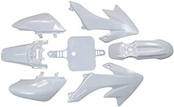 TC-Motor White Fender Body Work Plastic Fairing Kit For Honda XR50 CRF50 Chinese 50cc 90cc 110cc 125cc 140cc 150cc 160cc Dirt Pit Bike