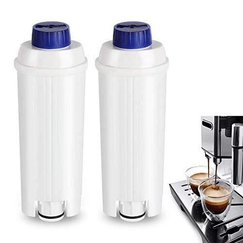 Wasserfilter für DeLonghi DLSC002 Kaffeevollautomaten Filter Filterpatronen mit Aktivkohleenthärter für Kaffeemaschinen von De'Longhi ECAM20.11x ECAM22/23 ESAM EC685 usw. geeignet