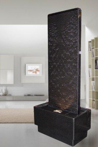 Troester\'s Brunnenwelt Zimmerbrunnen Wasserwand \'Black Swan\'
