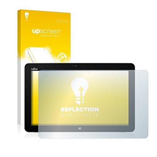 upscreen Entspiegelungs-Schutzfolie kompatibel mit Fujitsu Stylistic R726 – Anti-Reflex Bildschirmschutz-Folie Matt