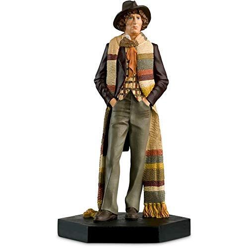 Official Licensed Merchandise Doctor Who Figur The Vourth Doctor Who Tom Baker handbemalt im Maßstab 1:21 Sammlerbox Modellfigur #17