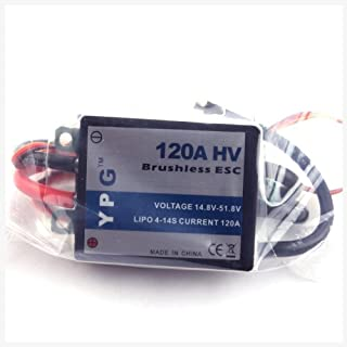 GARTT YPG HV 120A ESC (4~14S) SBEC Brushless Speed Controller For Trex 700 Helicopter
