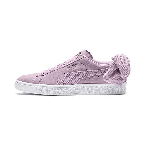 Puma Damen Suede Bow Uprising WN's Sneaker, Pink (Winsome Orchid White 03), 40 EU