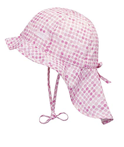 Döll Baby-Mädchen Nackenschutz Sonnenhut, Rosa (Pink Lady|Rose 2720), 51