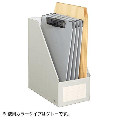 コクヨファイルボックスSワイドタイプA4グレーフ-EW450M