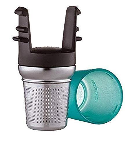 Contigo filtre à thé pour tous les mugs isothermes West Loop, infuseur à thé en acier inoxydable pour thé en vrac ou en sachets, résistant au lave-vaisselle