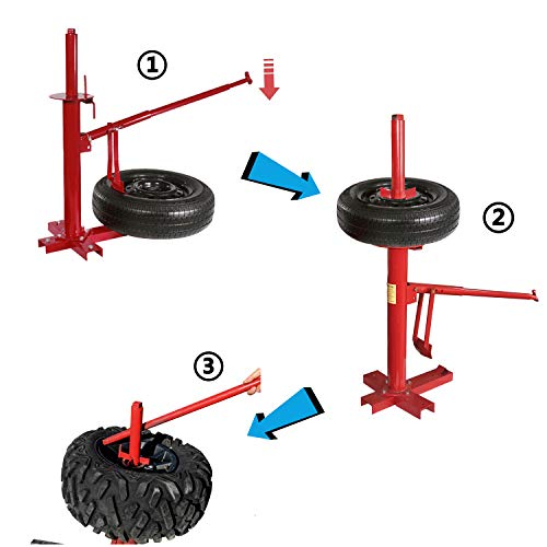 XKMT- Portable Tire Changer Changing Machine Car Truck Motorcycle Manual