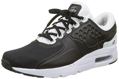 Nike Air MAX Zero Premium, Zapatillas de Gimnasia Hombre, Negro (Black/Black/White), 47.5 EU
