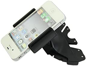 Polytree 360° Universal Car CD Player Slot Mount Cradle Holder for iPhone Mobile Phone GPS