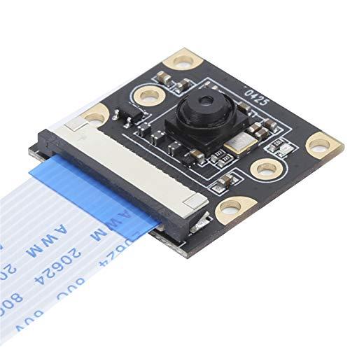 Mikro-Kamera-Modul, Kameramodul 8 MP IMX219, 77 ° Sichtfeld, für NVIDIA Jetson Nano Face Nummernschilderkennung (schwarz)