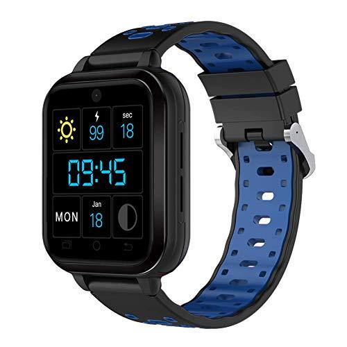 Smart Watch 1.54'Soporte de Pantalla táctil TFT 4G WiFi Android 6.0 RAM 1G + ROM 8G SMARTWATCH con Monitor PEDETRÓMICO Cámara Reproductor de música Adecuado para Hombres y Mujeres