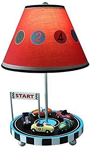 QTWW Lámpara de Escritorio Cars para Habitación Infantil A Poser Infantil Metal/PLA Resina
