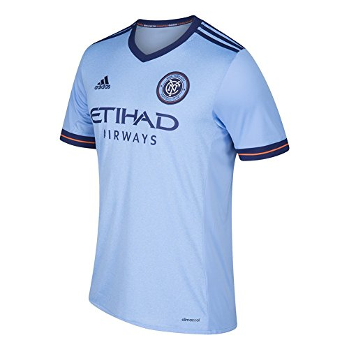 adidas New York City FC Jersey Replica Home Soccer Jersey (XXX-Large)