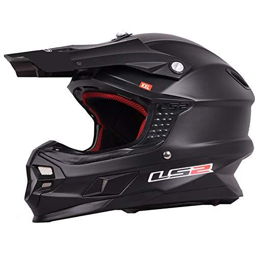 CHB Outdoor-Riding Helmet Street Bike Racing Collision Helmet Professional Off-Road Racing Helmet mit Airbag-Helm Motorrad-Motorradhelm,1002,XL