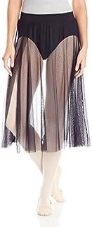 Capezio Women's Side Slit Sheer Skirt