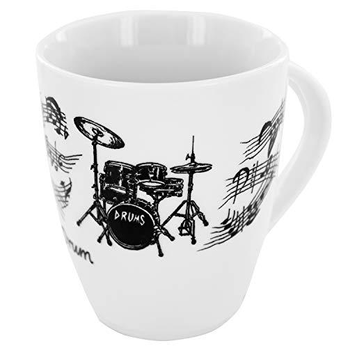 Tasse Schlagzeug, Geschenk für Schlagzeuger