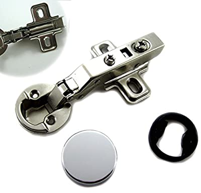 """Dia 1""""/26mm Hole Euro Hydraulic Soft Close Hinge for Cabinet Glass Door"""