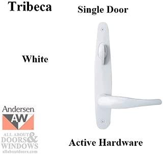 Hardware Kit, Single Door, Tribeca, Active Door - White
