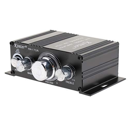 prasku Amplificador de Audio Digital Estéreo de Fidelidad Bluetooth con Control