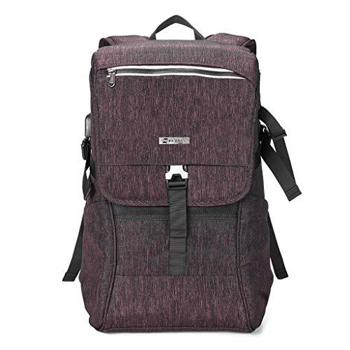LIZIBAO Kameratasche - Stoßfeste wasserdichte und stoßfeste professionelle Nylon-Outdoor-Reise-Schultertasche for Verschiedene Kameratypen (Color : B)