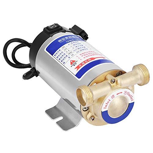 220V100W Pompa di aumento pressione automatica in acciaio inossidabile per uso domestico Pompa di aumento della pressione dell'acqua per la conduttura dell'acqua del rubinetto per il giardino di casa