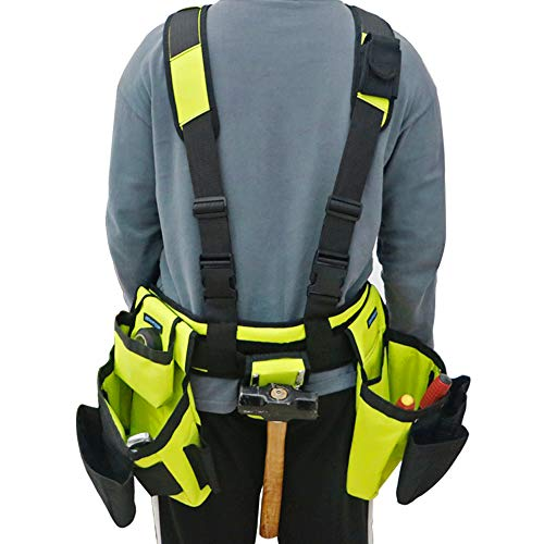 BHTOP Combo of Construction Tool Belt and Bags
