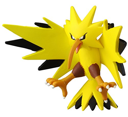 TAKARA TOMY Takaratomy Officiel Pokémon X et Y Mc-051 5,1 cm Zapdos Action Figure